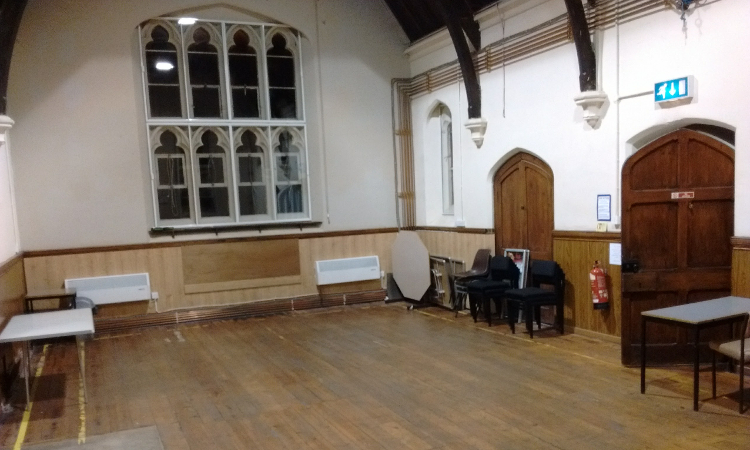 mount pleasant centre room hire vaulted room 3